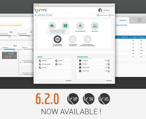 Kurmi Software Suite 6.2.0 est disponible