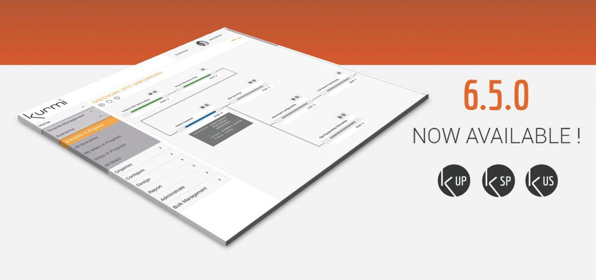 Kurmi Software announced the new 6.5.0 release of its flaghship Kurmi Software Suite